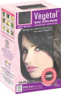 Vegetal bio colour soft black