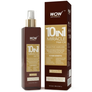 WOW 10-in-1 Active Miracle Hair Oil