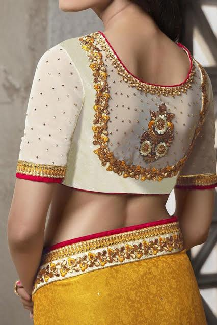 white-and-gold-wedding-blouse