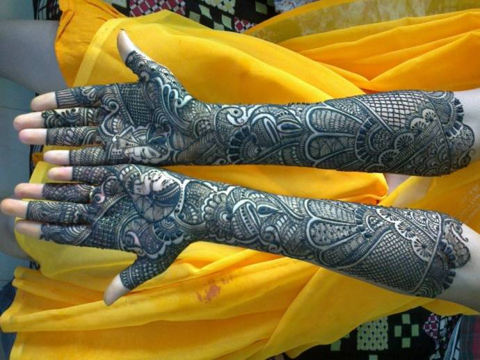 Mehndi Bridal Mehndi Design : Bridal mehndi designs for hands dulhan henna