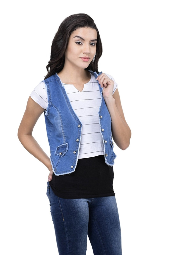 Women's Denim Shrug