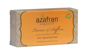 Azafran Organics Licorice & Saffron Skin Lightening Soap