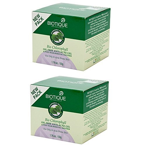 Biotique chlorophyll oil free anti acne gel