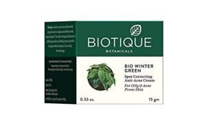 Biotique winter green spot correcting Anti-acne cream