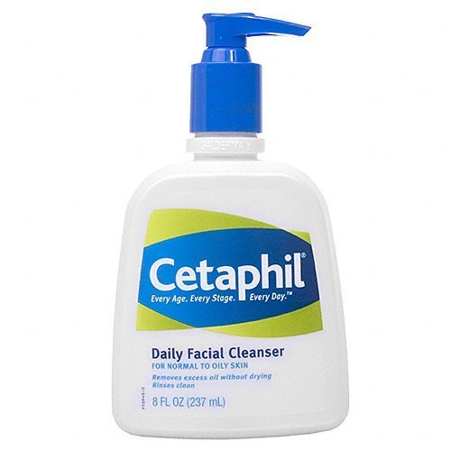 Cetaphil's daily facial cleanser