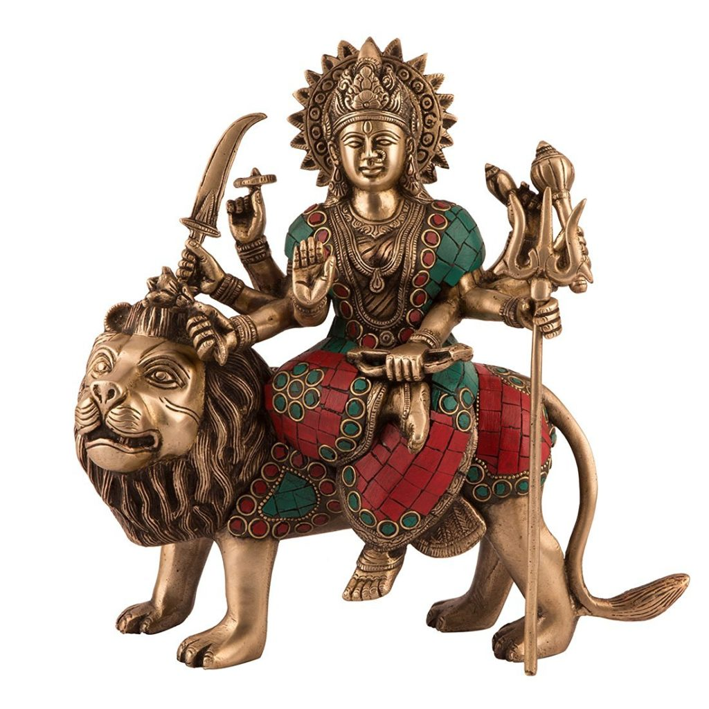 collectible-india-11-large-durga-idol
