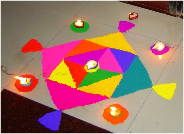 easy-and-colorful-rangoli-in-rhombus-shape