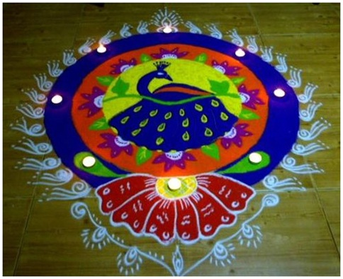 easy-peacock-rangoli-pattern-in-a-circular-design