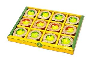 elegant-handcrafted-floral-wax-diwali-diyas-designed-with-terracotta-material