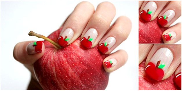 fruit-inspired-nail-art-design