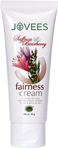 Jovees Saffron and bearberry fairness cream