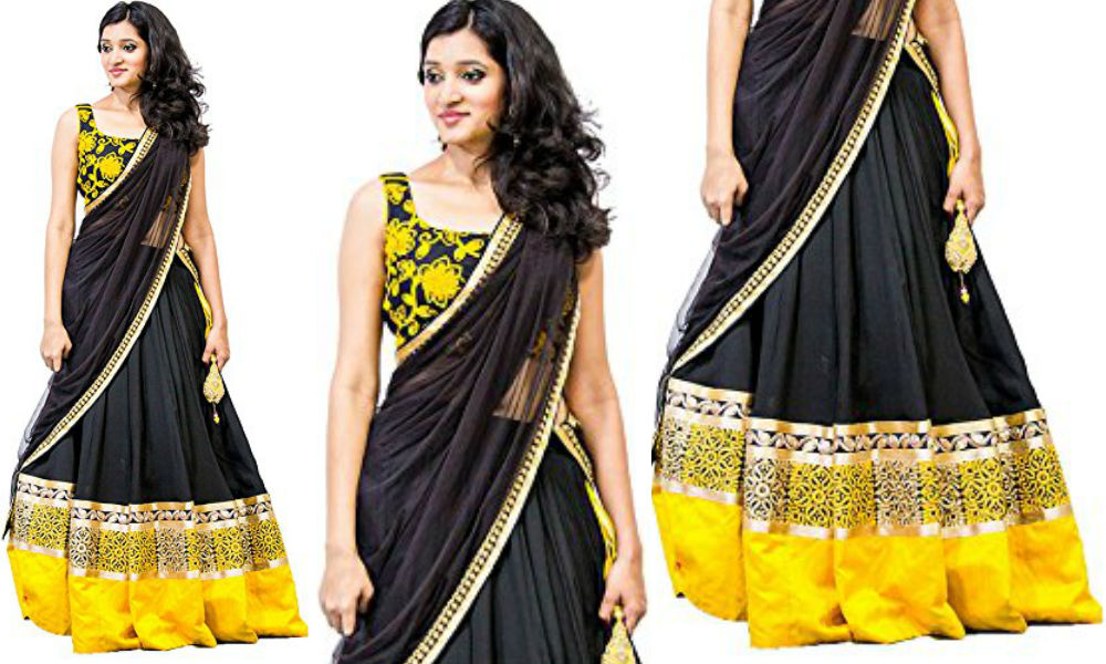 latest-designer-black-and-yellow-color-georgette-lehenga-choli-for-women