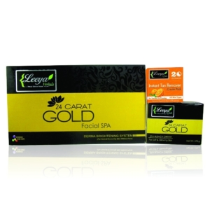Leeya Gold Spa Facial Kit