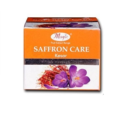 Nature's essence magic saffron care fairness message cream