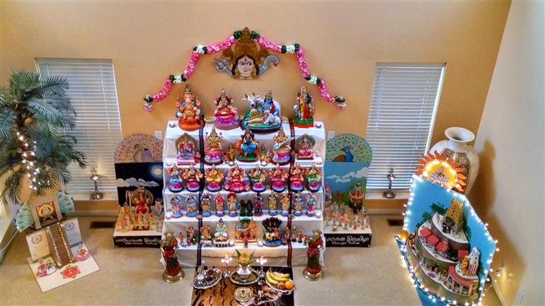 Navratri Decorations And Brief Info About Festival And Fast