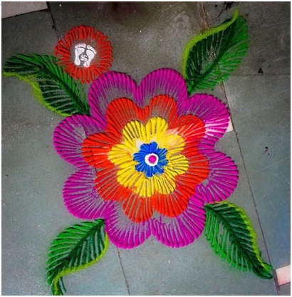 quick-and-easy-flower-rangoli-design