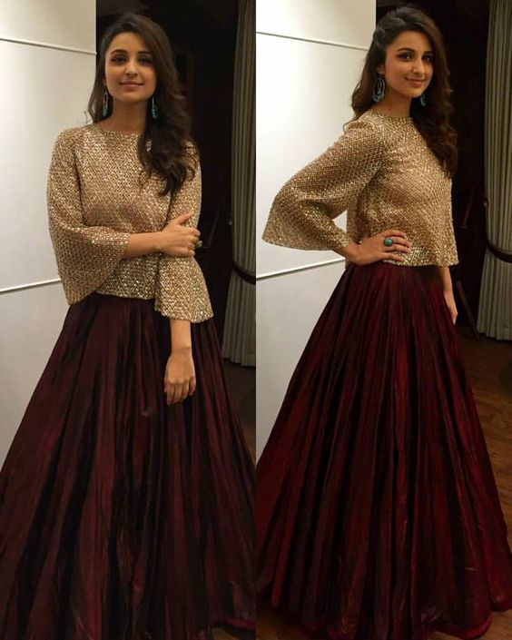 shimmery-top-and-skirt
