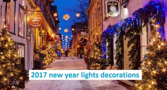 2019 New Year Lights Decorations