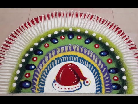 amazing-christmas-rangoli-art