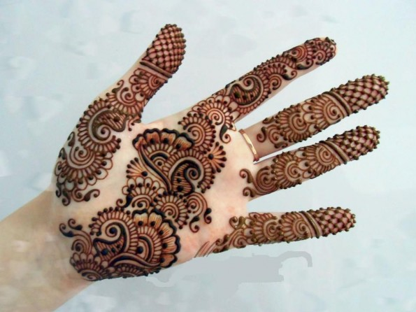 Intricate Mehndi Patterns : Easy and simple henna designs for palms mehendi