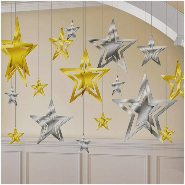 golden-and-silver-hanging-star-decoration