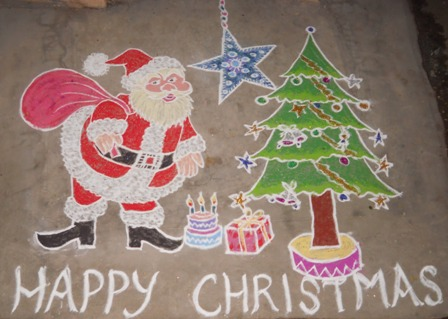 happy-christmas-rangoli-design