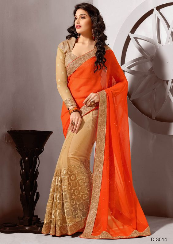 Simple saree designs for girls