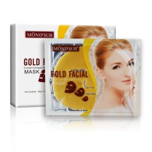 MOND'SUB Gold Brightening & Antiwrinkle Face Mask