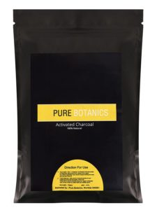 Pure Botanics Activated Charcoal Powder For Face Masks