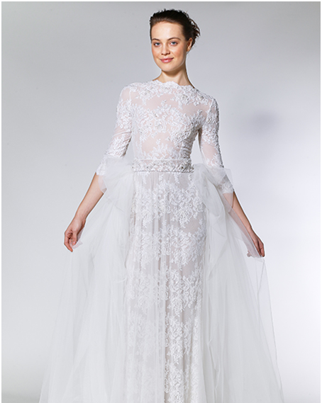 quater-sleeve-self-designed-fluffy-gowns
