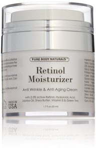 Retinol Cream Moisturizer For Face With 2.5% Retinol
