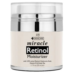 Retinol Moisturizer Cream For Face With 2.5% Retinol, Hyaluronic Acid And Jojoba Oil