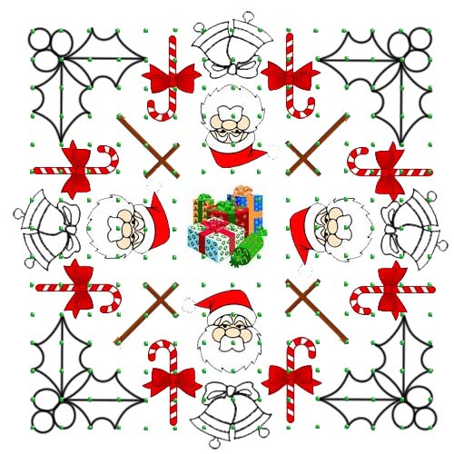 santa-claus-jingle-bells-kolam-rangoli-design