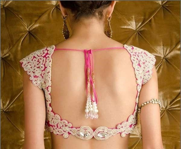 backless-pink-blouse-design
