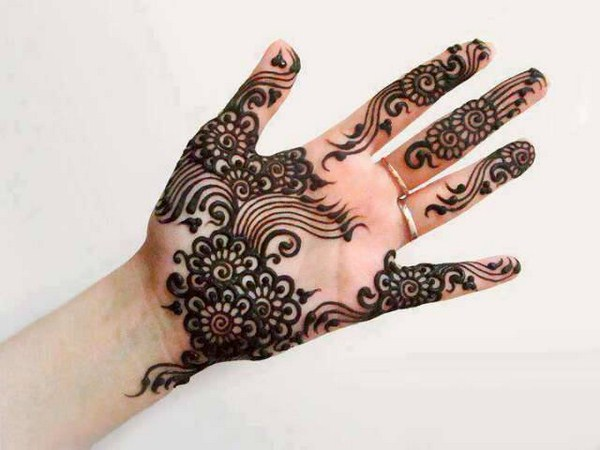Mehndi Easy Design : Easy and simple henna designs for palms mehendi