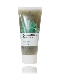 Oriflame love nature face scrub purifying oily skin