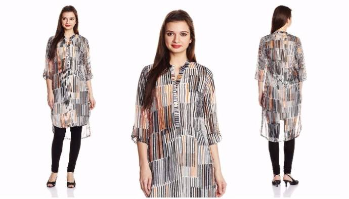 Casual straight kurta for women