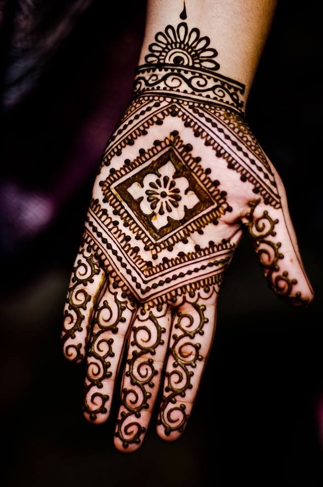 Mehndi For Thin Hands : Bridal mehndi designs for hands dulhan henna