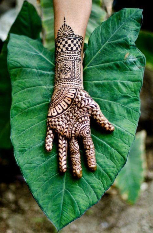 Pretty Simple Henna Designs: Easy And Simple Henna Designs For Palms