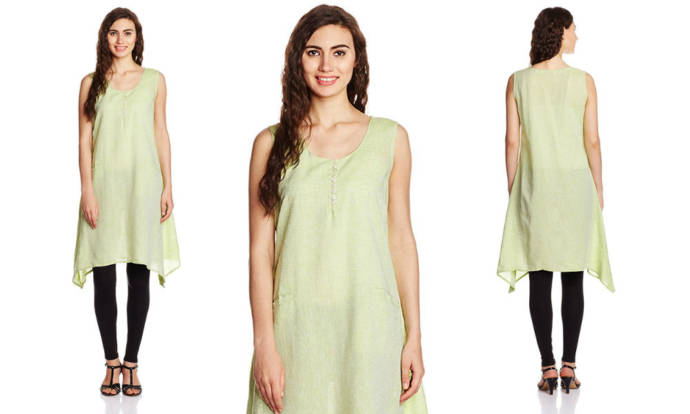 womens-asymmetrical-hemline-kurta-with-round-neck