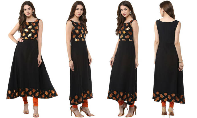 womens-black-anarkali-casual-crepe-kurti