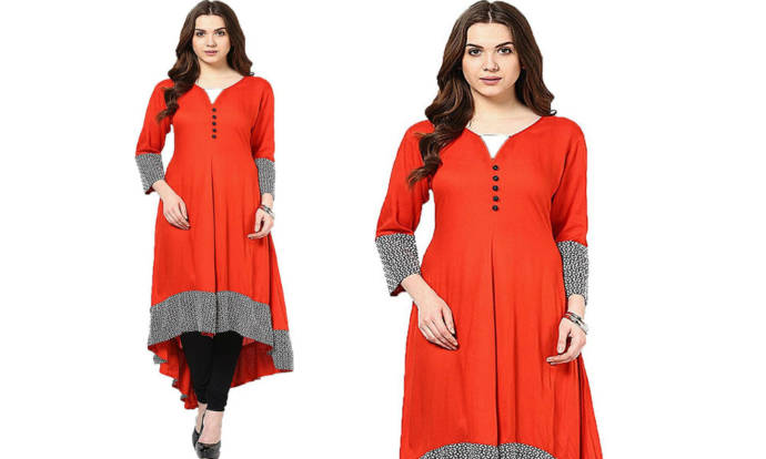 womens-orange-color-kurti