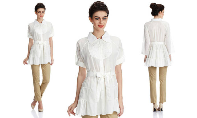 womens-white-color-shirt-kurta