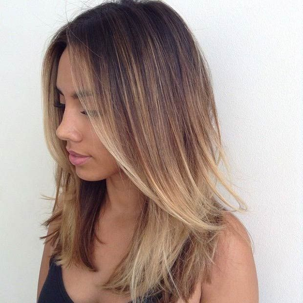 Excellent Balayage Hairstyles For Medium Length Hair Hairstyles For Women Draintrainus