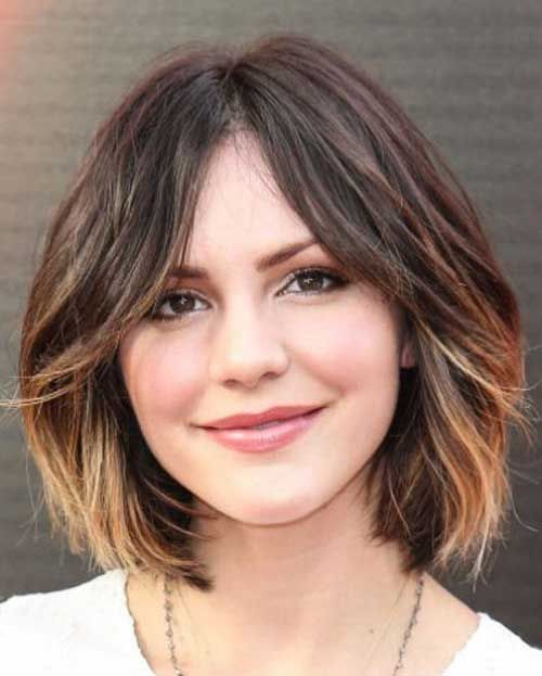 short hairstyles without bangs : Balayage hairstyles for short length hair
