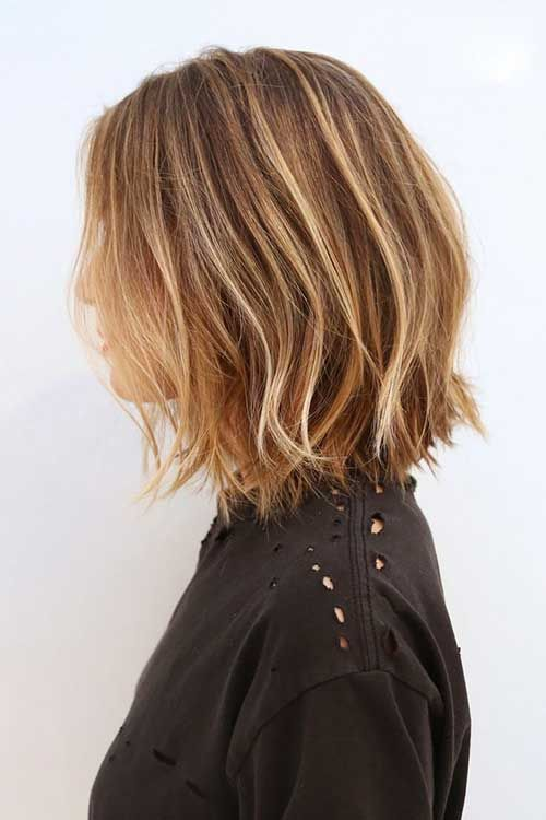 Balayage Hairstyles For Short Length Hair