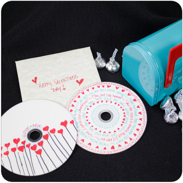 A personalized audio CD