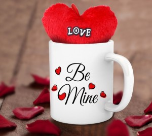 A special mug with heart