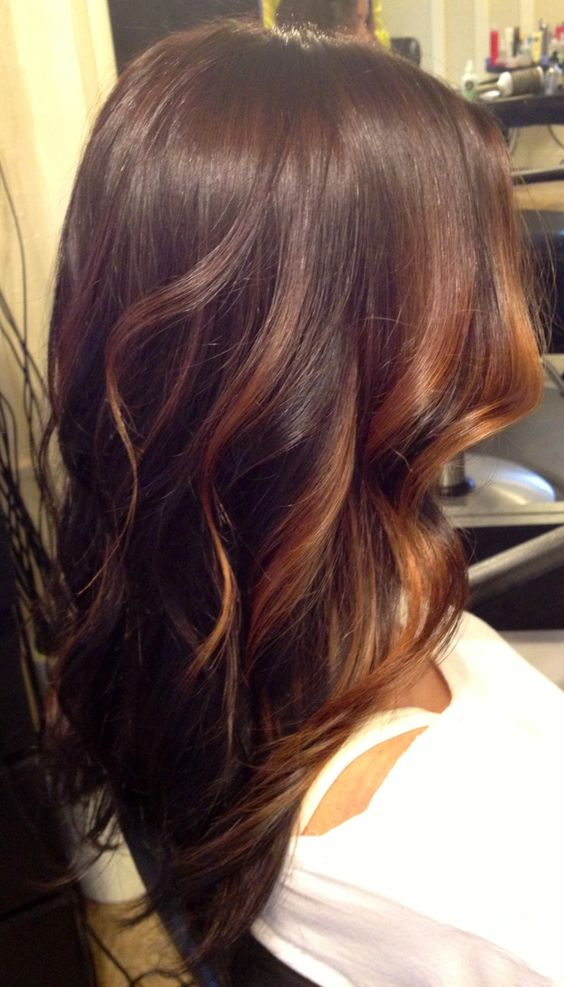 Dual color blended in waves
