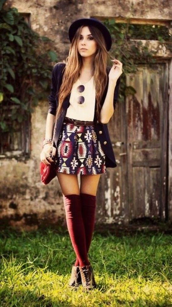 Short outfit trend
